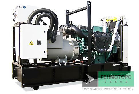 Дизельный генератор (электростанция) Gesan DVA 140E