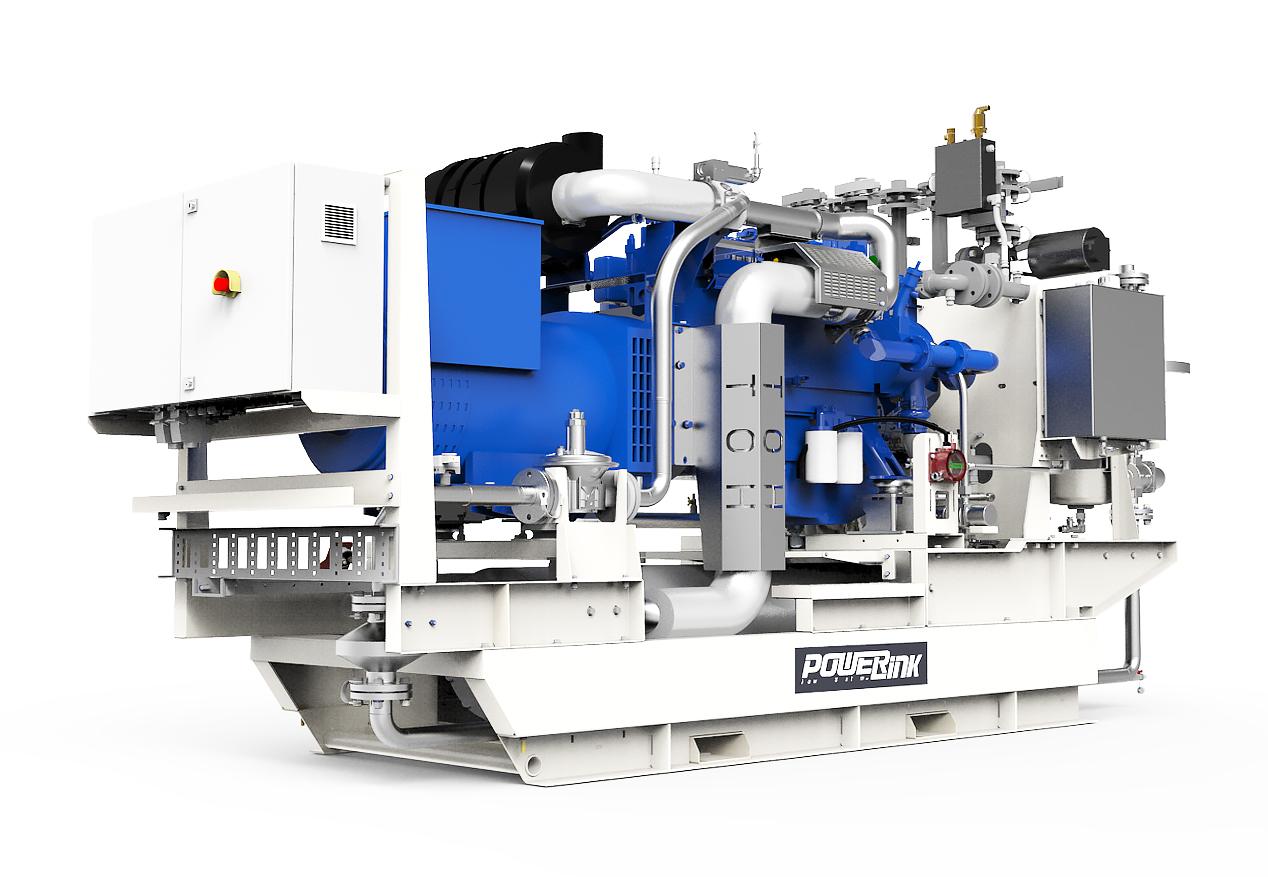 Газопоршневая электростанция (ГПУ) PowerLink GE140NG