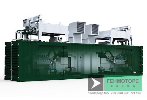Газопоршневая электростанция (ГПУ) PowerLink PB200С-7S-NG