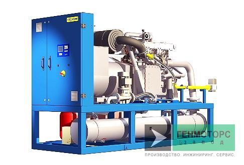 Газопоршневая электростанция (ГПУ) Tedom Cento T200