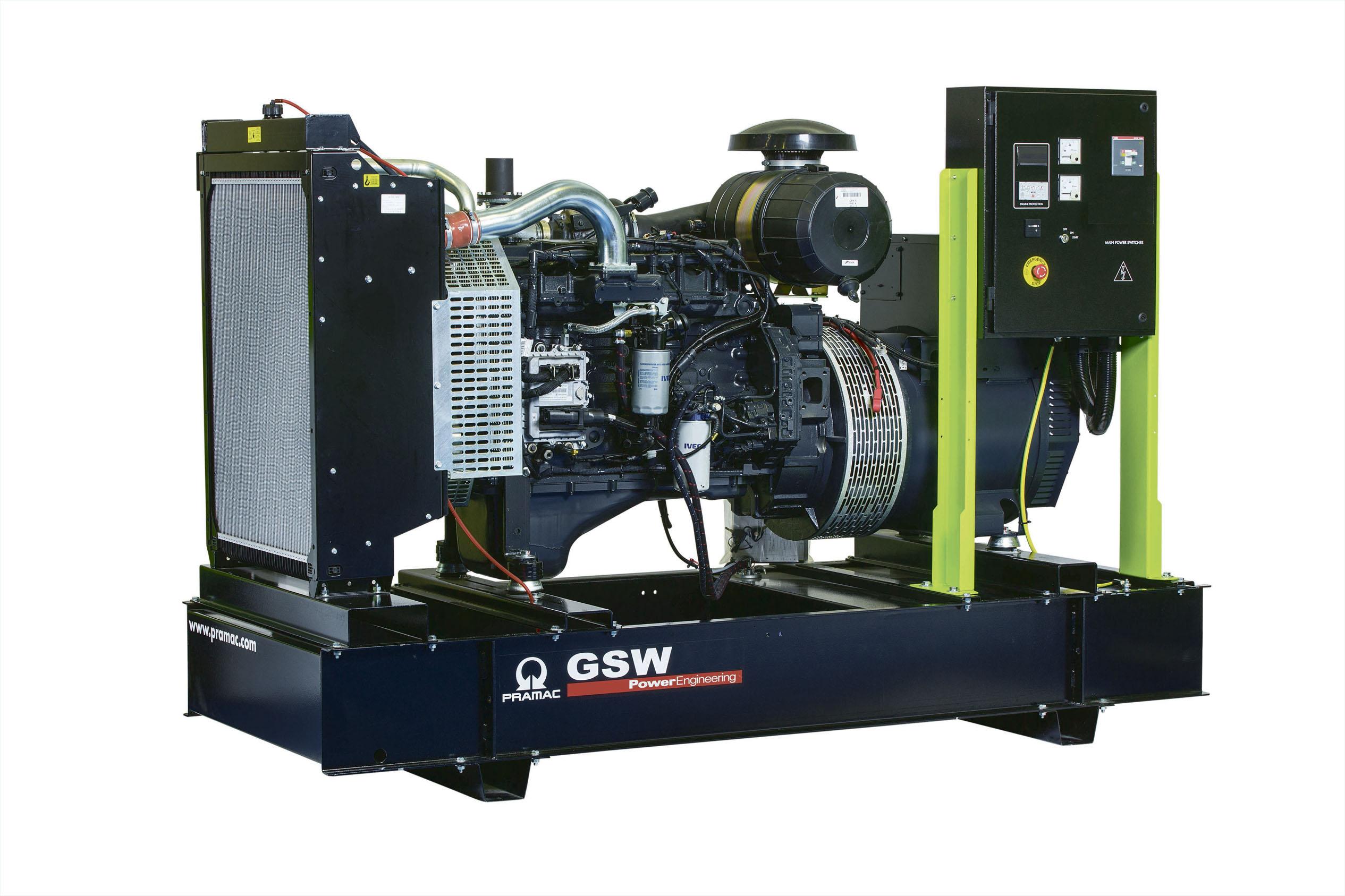 Дизельный генератор (электростанция) Pramac GSW200P
