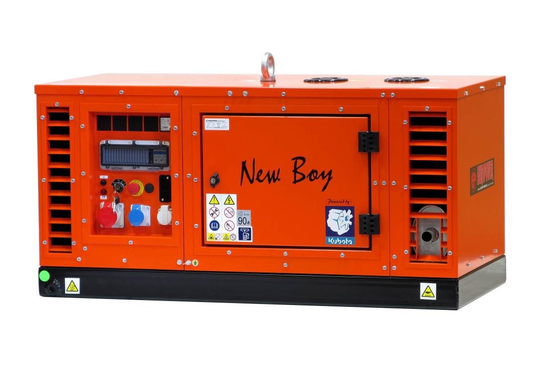 Дизельный генератор (электростанция) Europower EPS 113 TDE