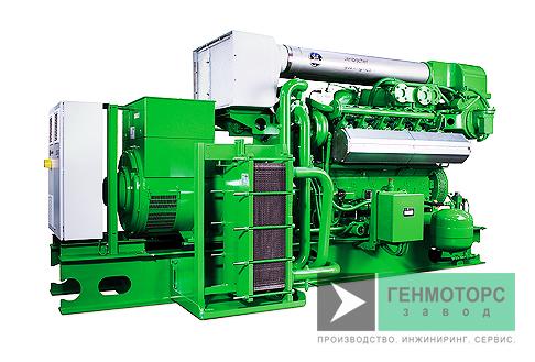 Газопоршневая электростанция (ГПУ) GE Jenbacher J312 625 кВт