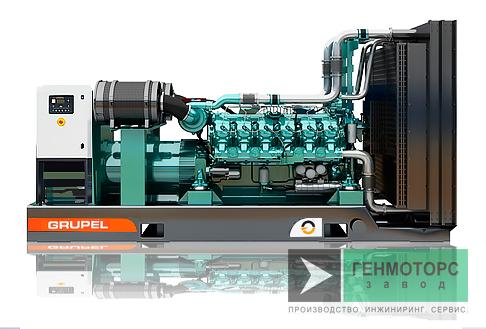 Дизельный генератор (электростанция) G1404BDGR Grupel