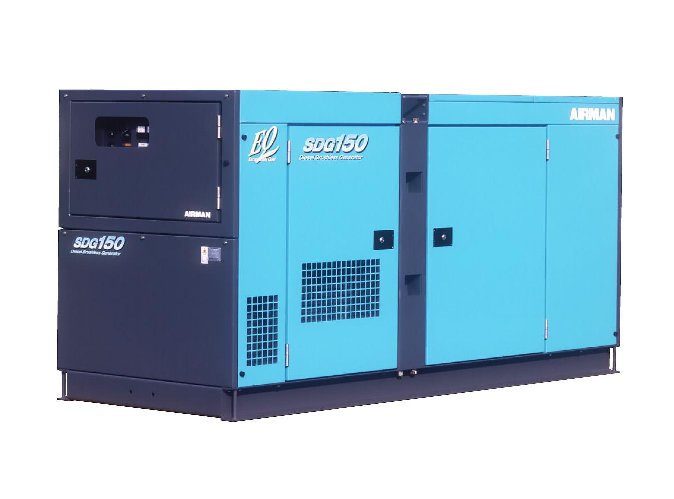 Дизельный генератор (электростанция) AIRMAN SDG150S