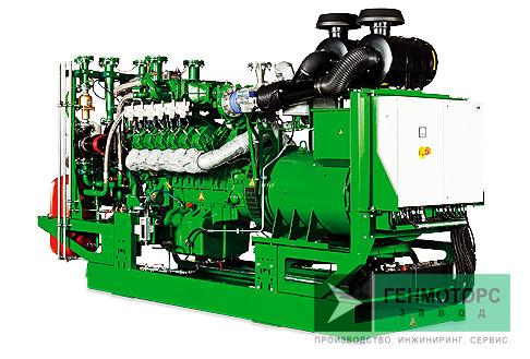 Газопоршневая электростанция (ГПУ) 2G Avus 1000b