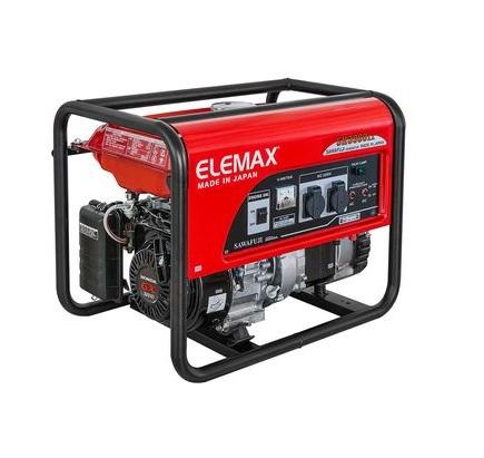 Бензиновый генератор (Бензогенератор) ELEMAX SH5300EX-R
