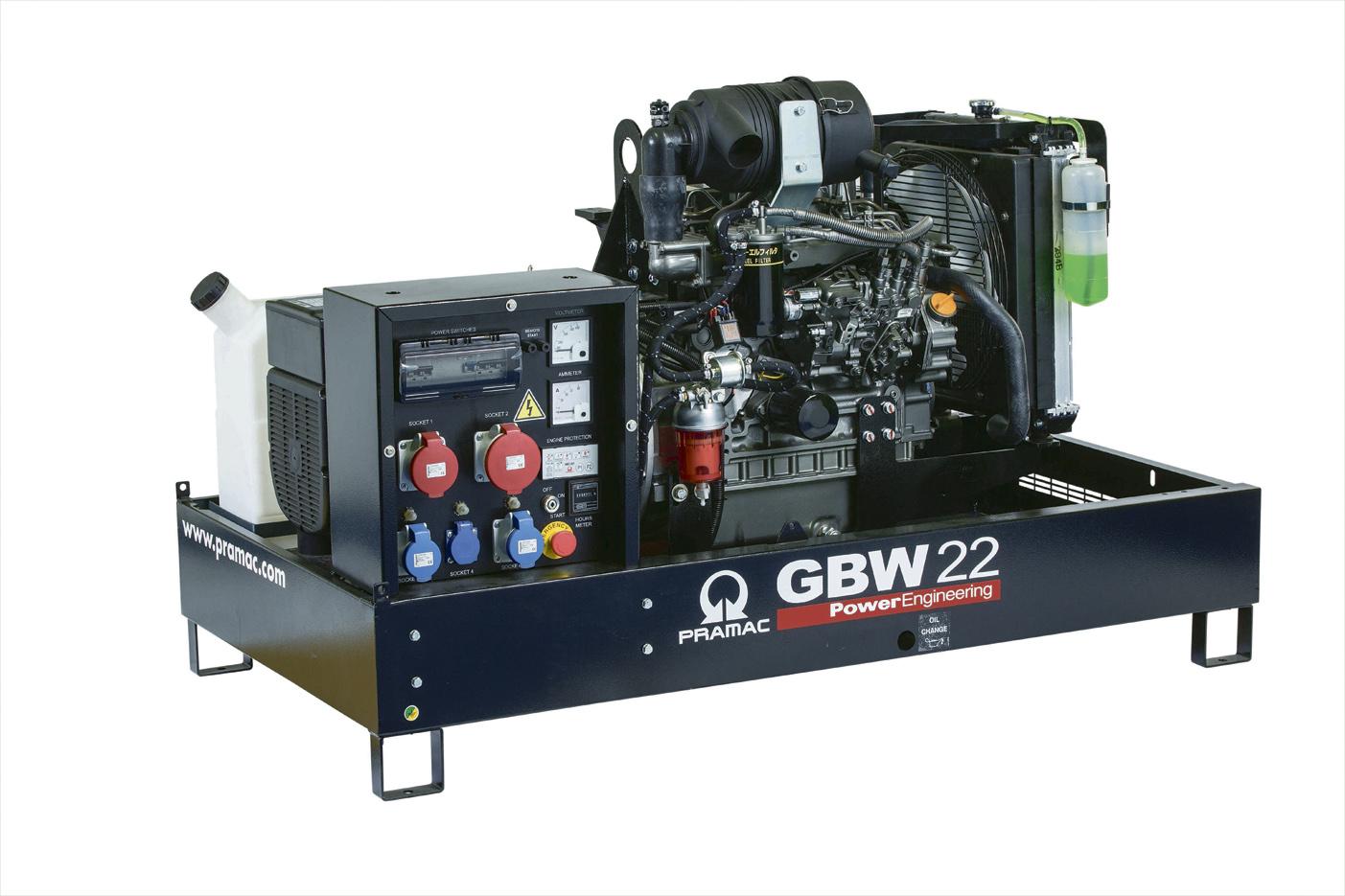 Дизельный генератор (электростанция) Pramac GBW22Y